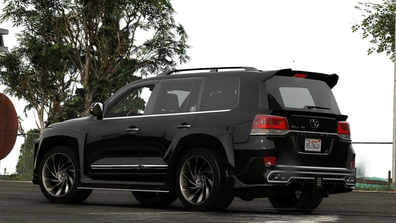 خودرو Toyota Land Cruiser 2020 برای GTA V